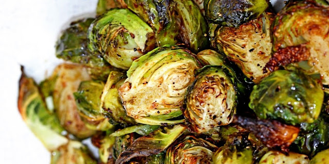 Delicious Balsamic Brussels Sprouts with 3 smart points