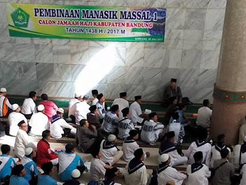 Manasik Haji 2017 Kabupaten Bandung di Al Fathu