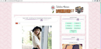 Cara membuat border shadow hover keliling blog