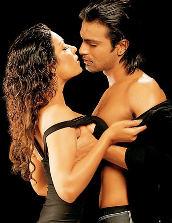 Pakistani Actress Veena Mallik Who Has Teamed Up With Her Ex Flame Ashmit Patel In Supermodel Shot Some Steamy Scenes For The Movie With Him Despite The
