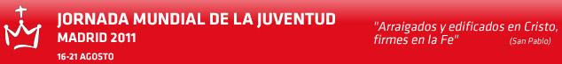 Programación de la JMJ para hoy Domingo 21 de Agosto