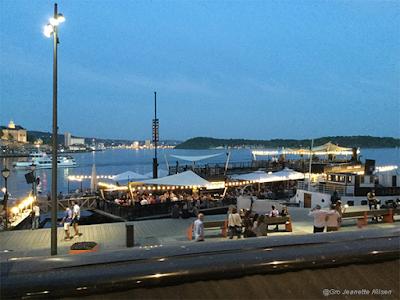 Sommerkveld på Aker Brygge!