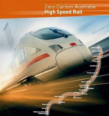 Beyond zero emissions high speed rail report