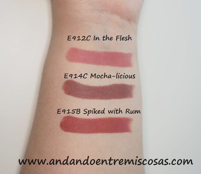 Megalast Lip Color Wet n Wild, swatches