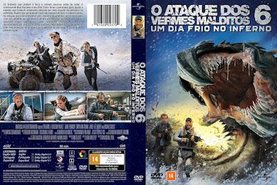 Filme O Ataque dos Vermes Malditos 6 - Um Dia Frio no Inferno (Tremors - A Cold Day in Hell) DVD Capa