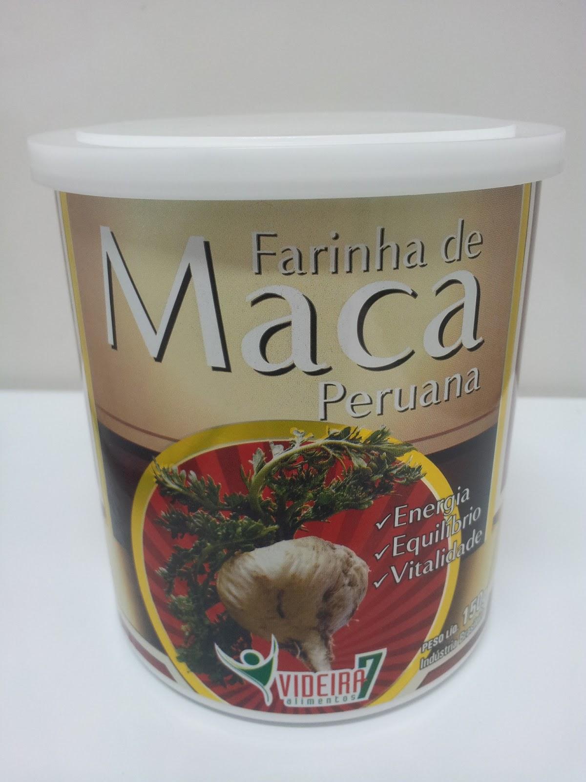 FARINHA DE MACA PERUANA - DISPONÍVEL EM ESTOQUE  858739237e31b