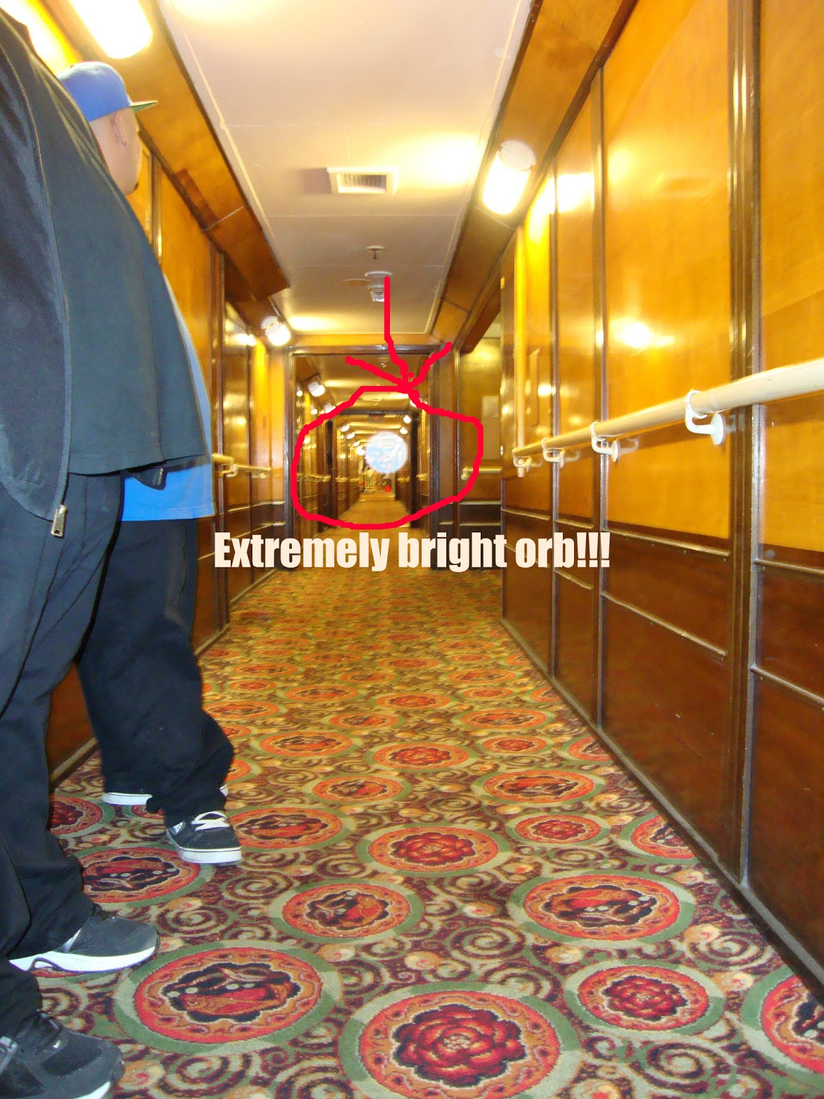 Queen Mary Engine Room: Everyday Ghost Hunters/Goatman's