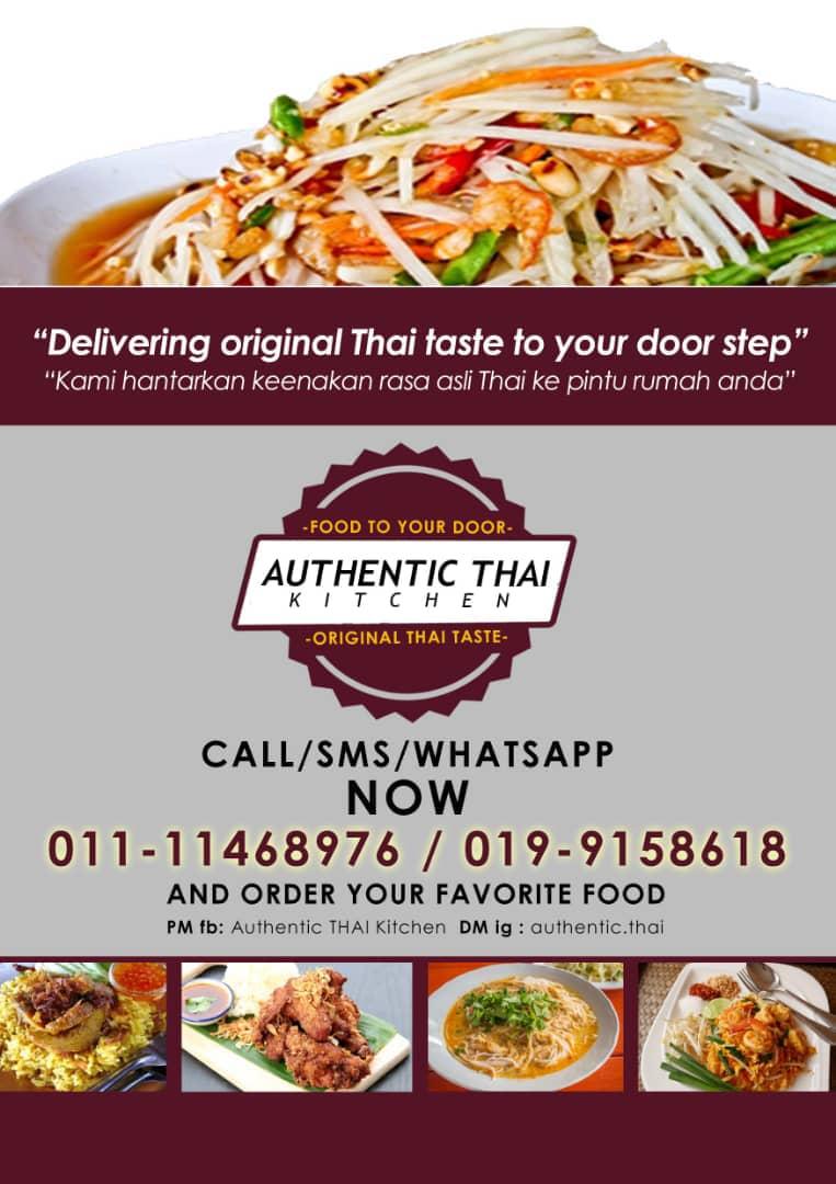 Teringin nak Makan Masakan Thai? Jom Order dengan Authentic Thai Kitchen