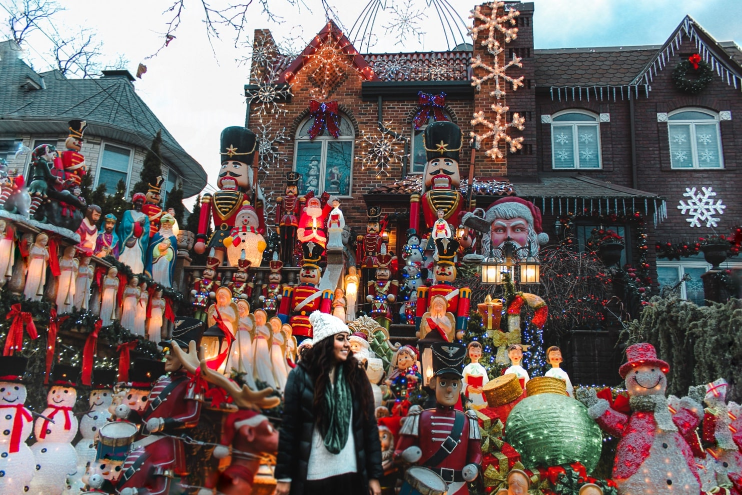 holiday lights in dyker heights nyc