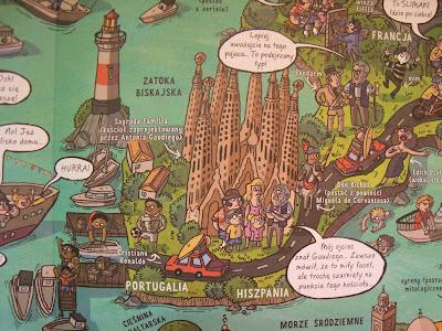 podróż dookoła świata, północ, południe, wschód, zachód, książka, dla dzieci