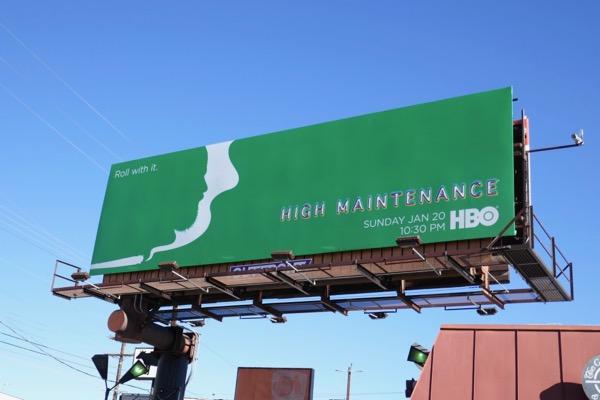High Maintenance season 3 billboard