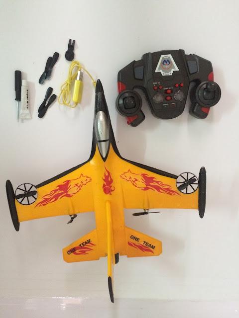 Hình ảnh thực tế máy bay F16 4 kênh_3