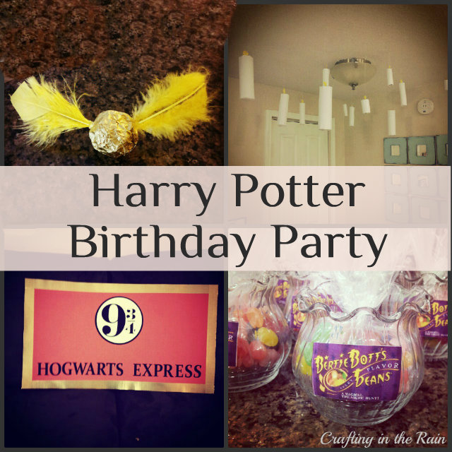 Over The Last Couple Of Weeks Ive Posted Bits Harry Potter Birthday Party I Was Planning For And With My 9 Year Old Since Today Is Her Actual