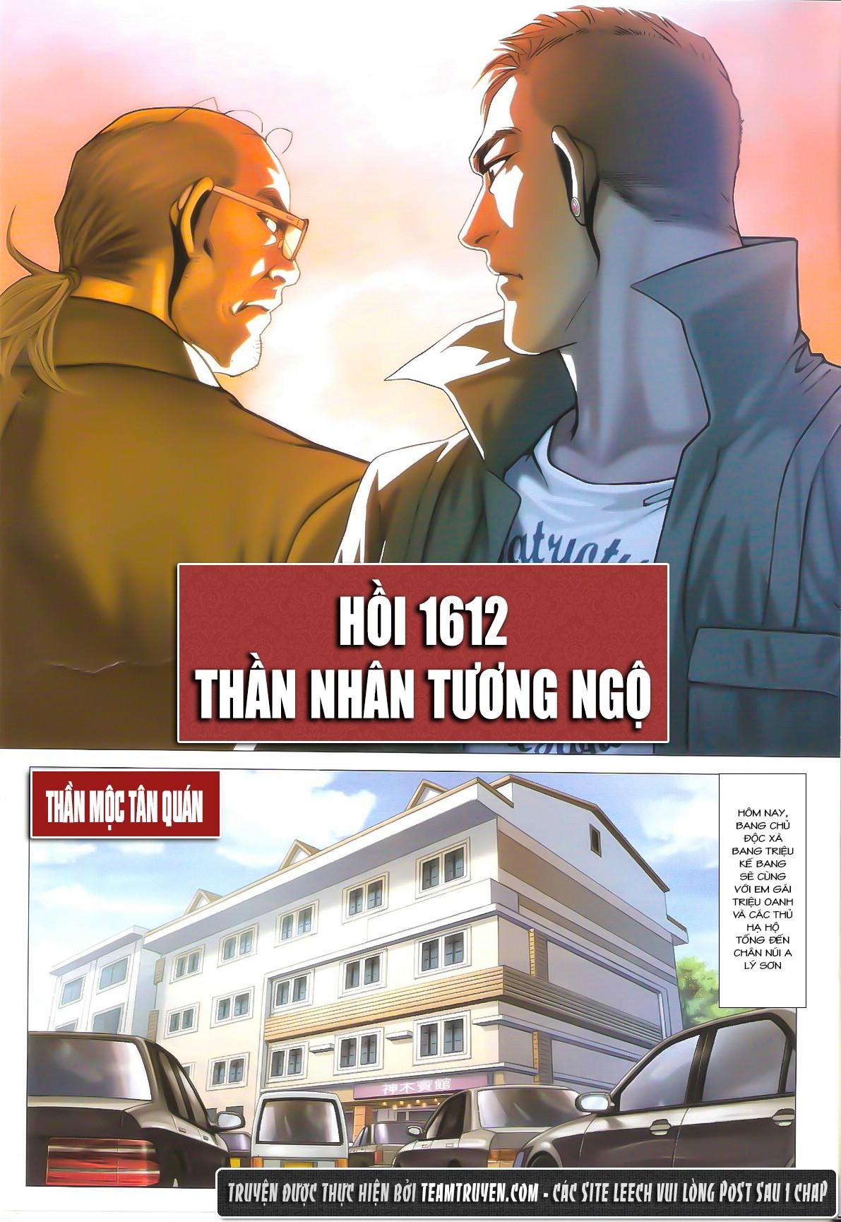 Người Trong Giang Hồ chapter 1612: thần nhân tương ngộ trang 2
