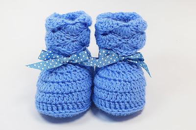 1 - Majovel Crochet. Crochet peucos,escarpines y zapatos para bebé a crochet