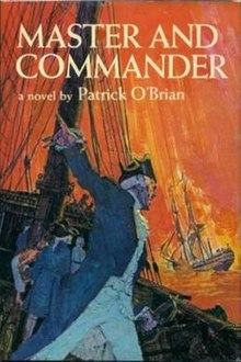 Book cover for Patrick O'Brian's Master and Commander in the South Manchester, Chorlton, and Didsbury book group