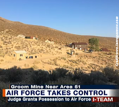 Government Takes Family's Land Near Area 51