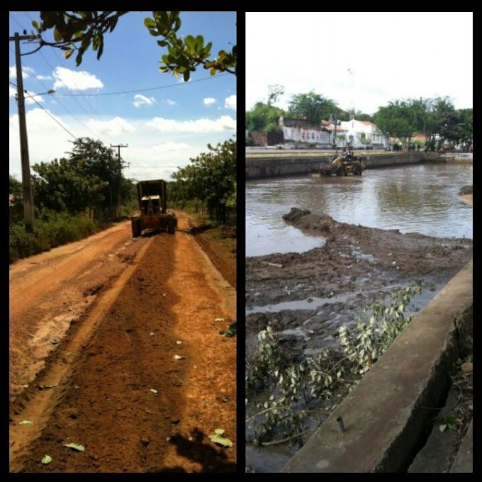 Prefeitura de Caxias recupera ruas da Vila Esperança e Soledade e conclui limpeza da Piscina do Bairro Ponte