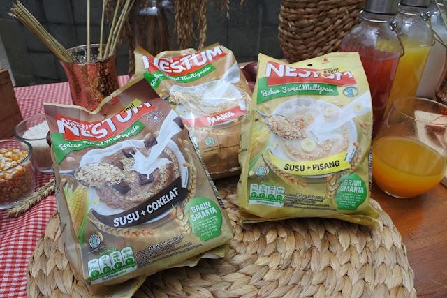 Nestle NESTUM, Sempurnakan Sarapan Demi Hidup Sehat Berkualitas