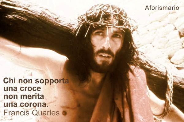 Preferenza Aforismario®: Croce e Crocifissione - Frasi e citazioni sul Crocifisso FM49