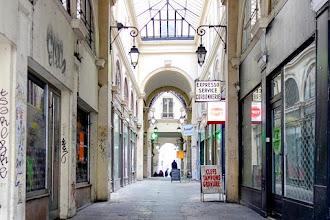 Paris : Passage Vendôme, décrépitude d'un passage couvert parisien laissé à l'abandon  - IIIème