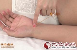 大陵穴位 | 大陵穴痛位置 - 穴道按摩經絡圖解 | Source:xueweitu.iiyun.com