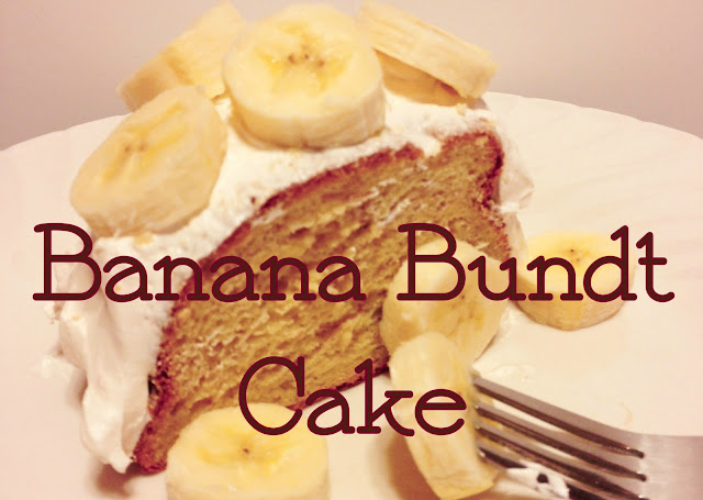Mother's Day Banana Bundt Cake