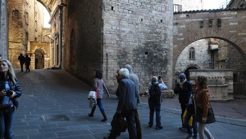 Perugia, Via Maestà delle Volte
