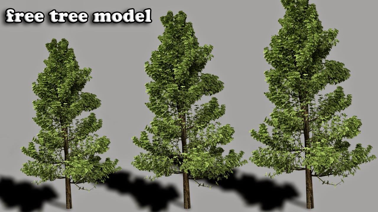 urtuts: free tree model for blender