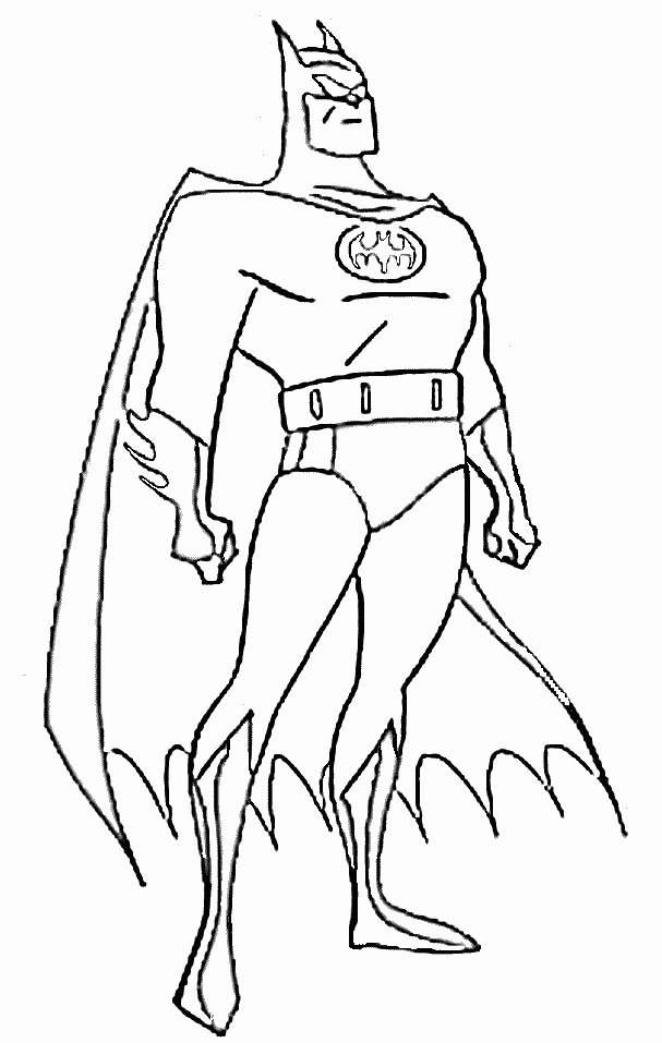 free printable coloring pages of batman | Welcome to Miss Priss: Mickey Mouse, Batman & Coloring Pages