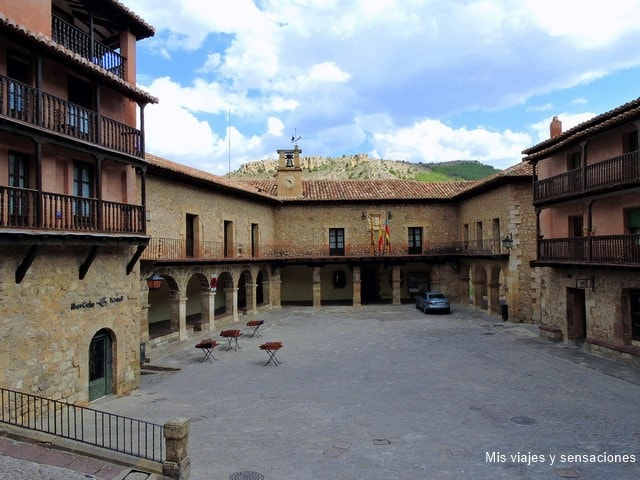 Plaza Mayor de Albarracín, Teruel, Aragón