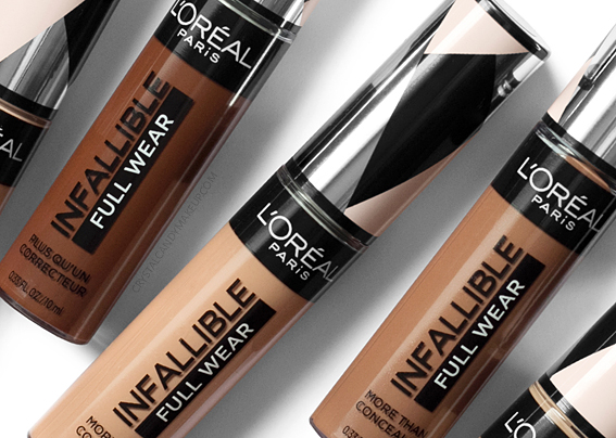 Anticernes Infallible Full Wear L'Oréal Avis Revue