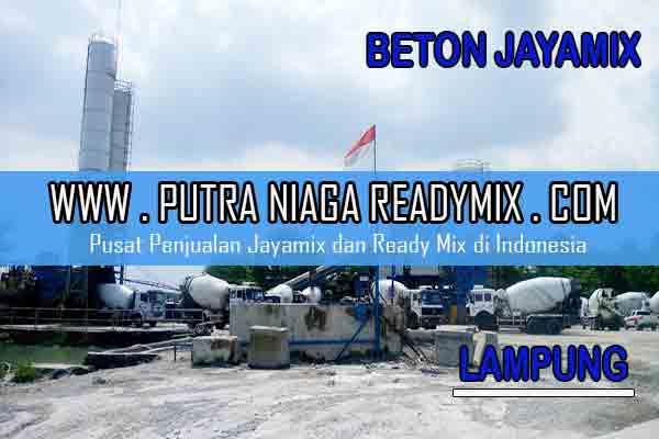 Harga Beton Jayamix Lampung