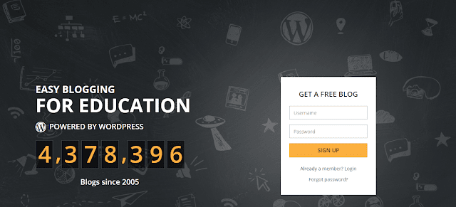 edublogs,blogging platforms,bloggiing,free website maker