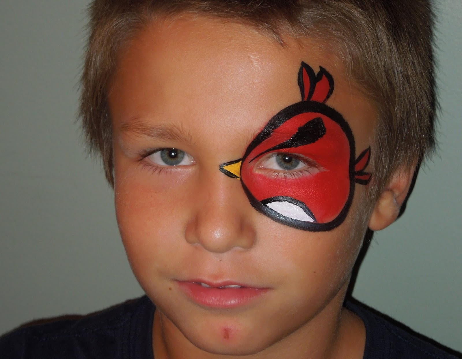 Easy Face Paintings For Boys Art Projects Ideas