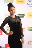 Vennela in Transparent Black Skin Tight Backless Stunning Dress at Mirchi Music Awards South 2017 ~  Exclusive Celebrities Galleries 071.JPG