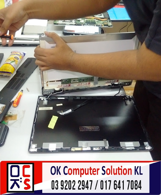 [SOLVED] SKRIN LAPTOP ASUS N56VZ | REPAIR LAPTOP DESA PANDAN 2