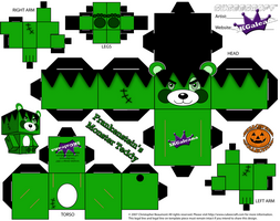 Descargar cubeecraft Frankenstein Teddy, especial Halloween