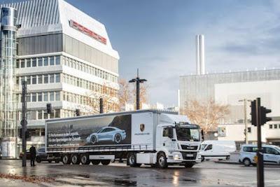Porsche vai ter camião elétrico para transportar o seu carro elétrico