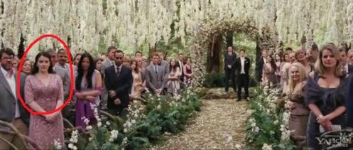 Stephenie Meyer Amanecer cameo