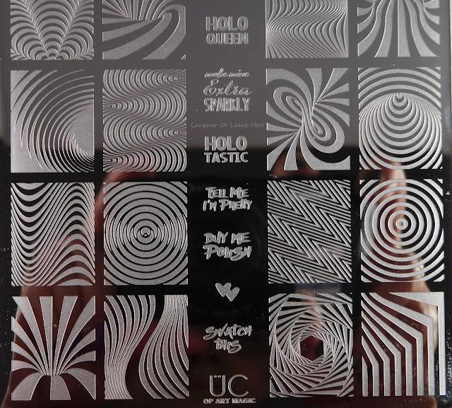 UberChic Beauty Op Art Magic Plate