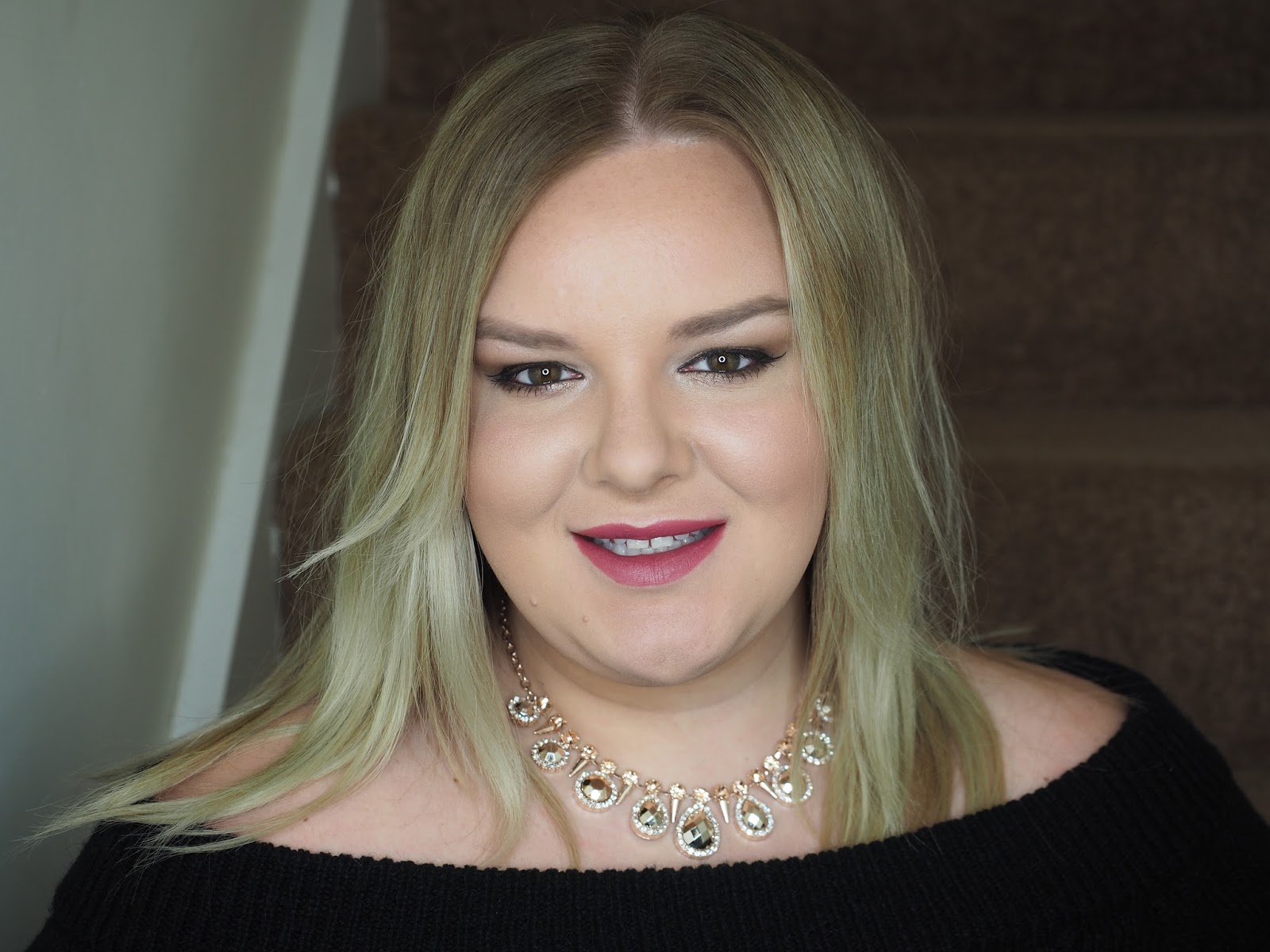 Rimmel #GetReadyWithRimmel Makeup Look using Rimmel Scandaleyes Reloaded Mascara in Black and Extreme Black and Eyeliner Image