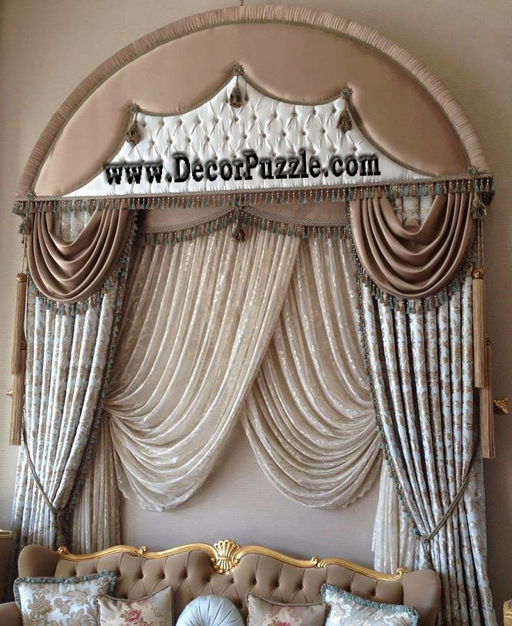 stylish french country curtains for living room, luxury curtains 2018