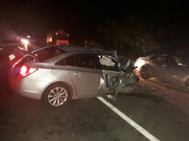 Táxi de Jaru se envolve em acidente que resulta em uma pessoa morta na BR 364