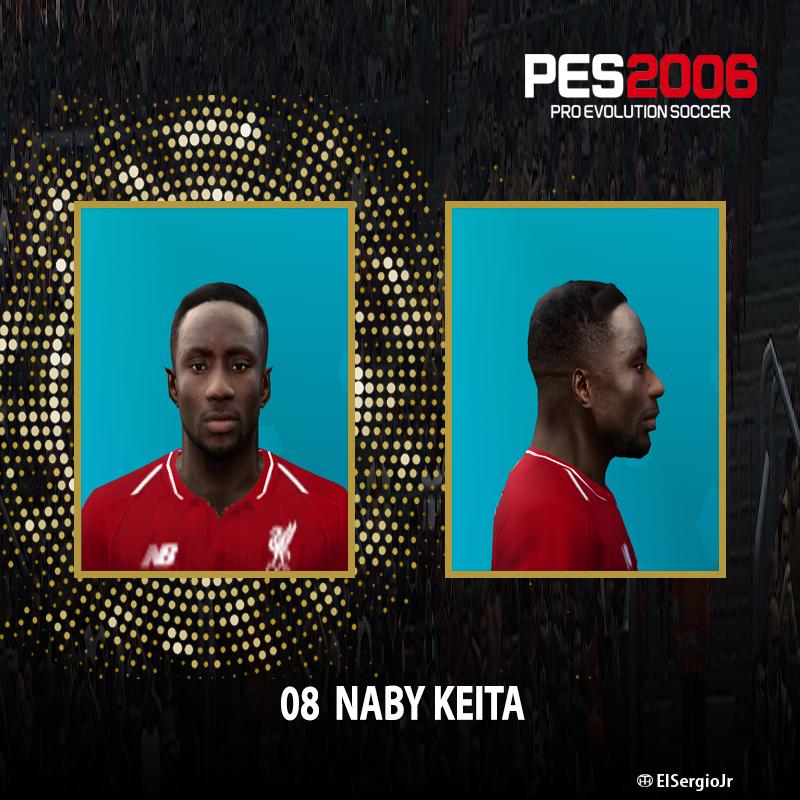 PES 6 Faces Naby Keita by El SergioJr - PES 6 Update   Free Download