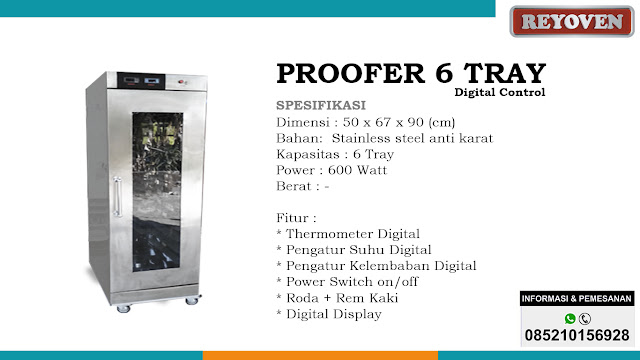 Profoer 6 Tray Digital Control