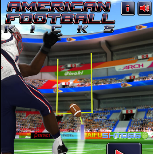 Free play American Football Kicks Online game