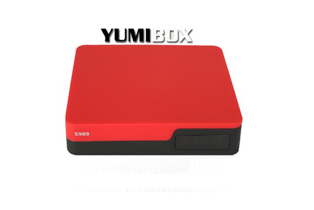 YUMIBOX S989 ACM ATUALIZAÇÃO MODIFICADA V137 - 20/05/2017