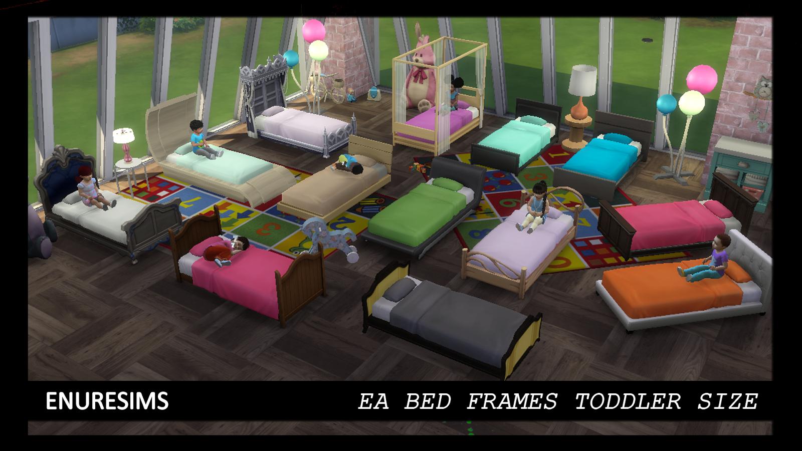 Ea Bed Frames Toddler Size | Enure Sims
