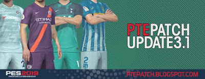 PES 2019 PTE Patch 2019 Update 3.1 + FIX - RELEASED 09/12/2018